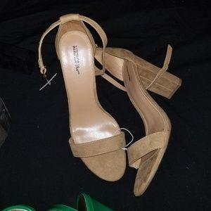 New chunky heels